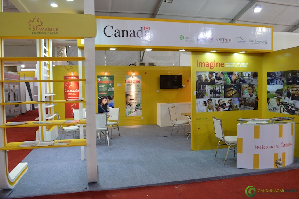 Canada Education @ Vibrant Gujarat Global Trade Show Gandhinagar 2013, 8th January 2013@ Exhibition Ground Gandhinagar