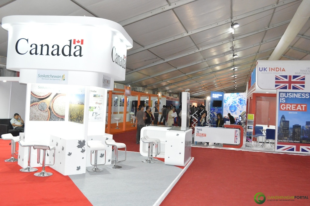 Canada @ Vibrant Gujarat Global Trade Show Gandhinagar 2013, 8th January 2013@ Exhibition Ground Gandhinagar Gandhinagar, Gujarat, India.