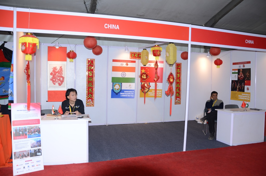 CHINA @ Vibrant Gujarat Global Trade Show Gandhinagar 2013, 8th January 2013@ Exhibition Ground Gandhinagar Gandhinagar, Gujarat, India.