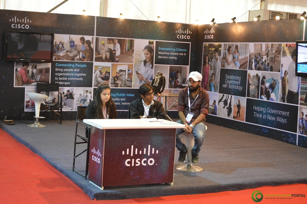 CISCO @ Vibrant Gujarat Global Trade Show Gandhinagar 2013, 8th January 2013@ Exhibition Ground Gandhinagar Gandhinagar, Gujarat, India.
