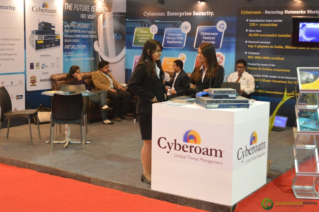 Cyber Roam @ Vibrant Gujarat Global Trade Show Gandhinagar 2013, 8th January 2013@ Exhibition Ground Gandhinagar Gandhinagar, Gujarat, India.