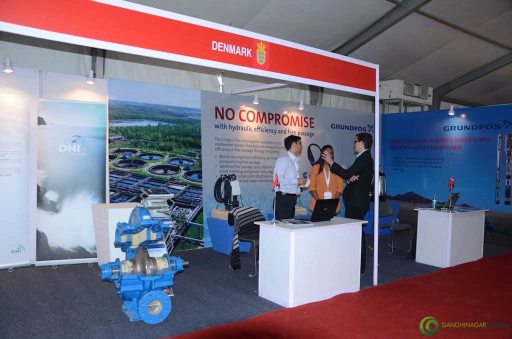 Denmark @ Vibrant Gujarat Global Trade Show Gandhinagar 2013, 8th January 2013@ Exhibition Ground Gandhinagar Gandhinagar, Gujarat, India.