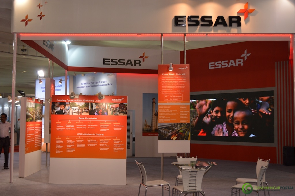 ESSAR @ Vibrant Gujarat Global Trade Show Gandhinagar 2013, 8th January 2013@ Exhibition Ground Gandhinagar Gandhinagar, Gujarat, India.