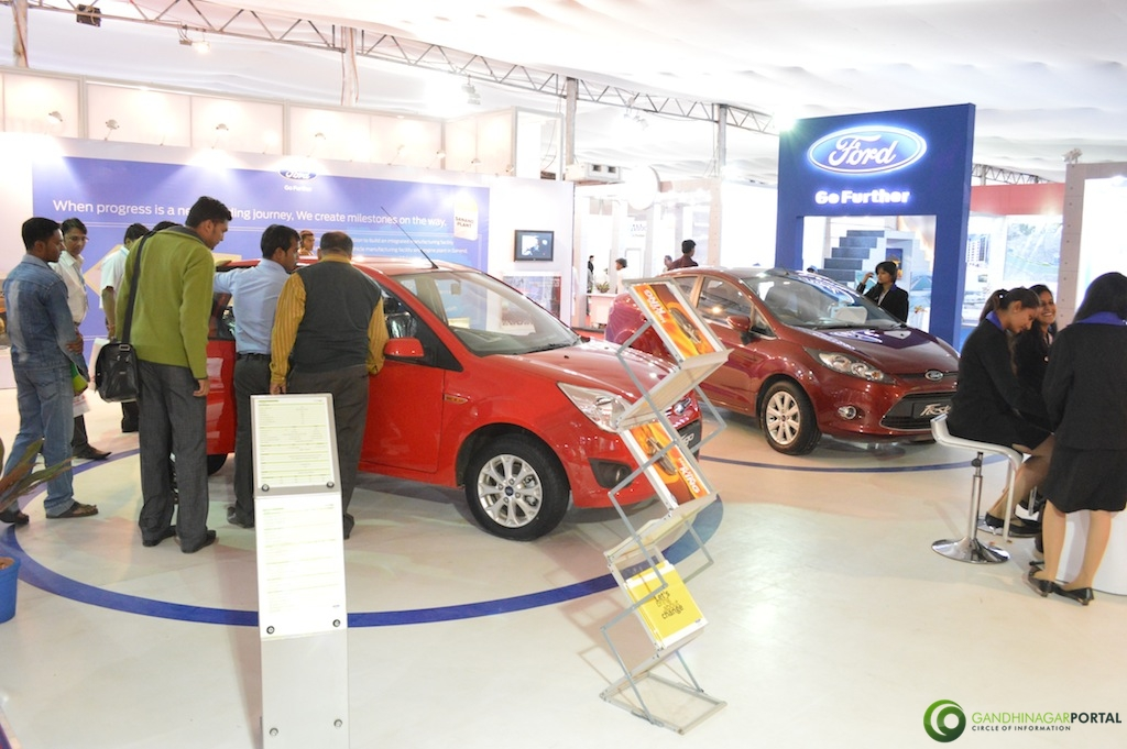 FORD @ Vibrant Gujarat Global Trade Show Gandhinagar 2013, 8th January 2013@ Exhibition Ground Gandhinagar