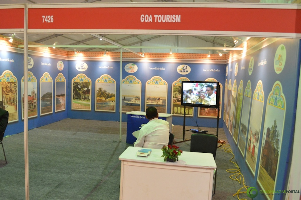 GOA Tourism @ Vibrant Gujarat Global Trade Show Gandhinagar 2013, 8th January 2013@ Exhibition Ground Gandhinagar Gandhinagar, Gujarat, India.
