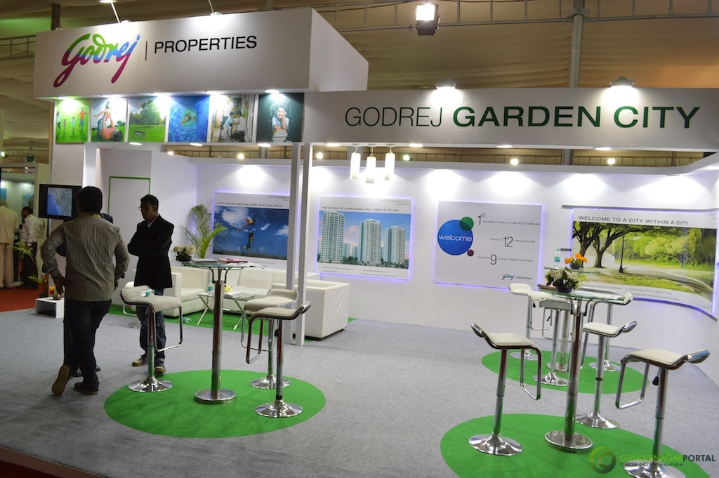 Godrej Properties @ Vibrant Gujarat Global Trade Show Gandhinagar 2013, 8th January 2013@ Exhibition Ground Gandhinagar Gandhinagar, Gujarat, India.