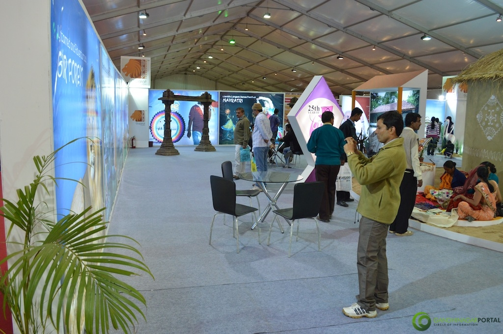 Gujarat Tourism @ Vibrant Gujarat Global Trade Show Gandhinagar 2013, 8th January 2013@ Exhibition Ground Gandhinagar Gandhinagar, Gujarat, India.