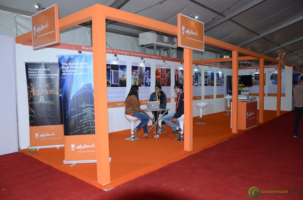 Holland @ Vibrant Gujarat Global Trade Show Gandhinagar 2013, 8th January 2013@ Exhibition Ground Gandhinagar Gandhinagar, Gujarat, India.
