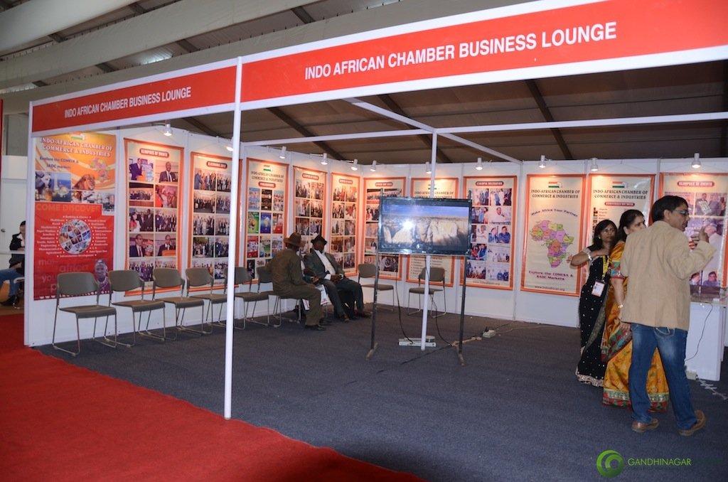 Indo-African Business Lounge @ Vibrant Gujarat Global Trade Show Gandhinagar 2013, 8th January 2013@ Exhibition Ground Gandhinagar Gandhinagar, Gujarat, India.