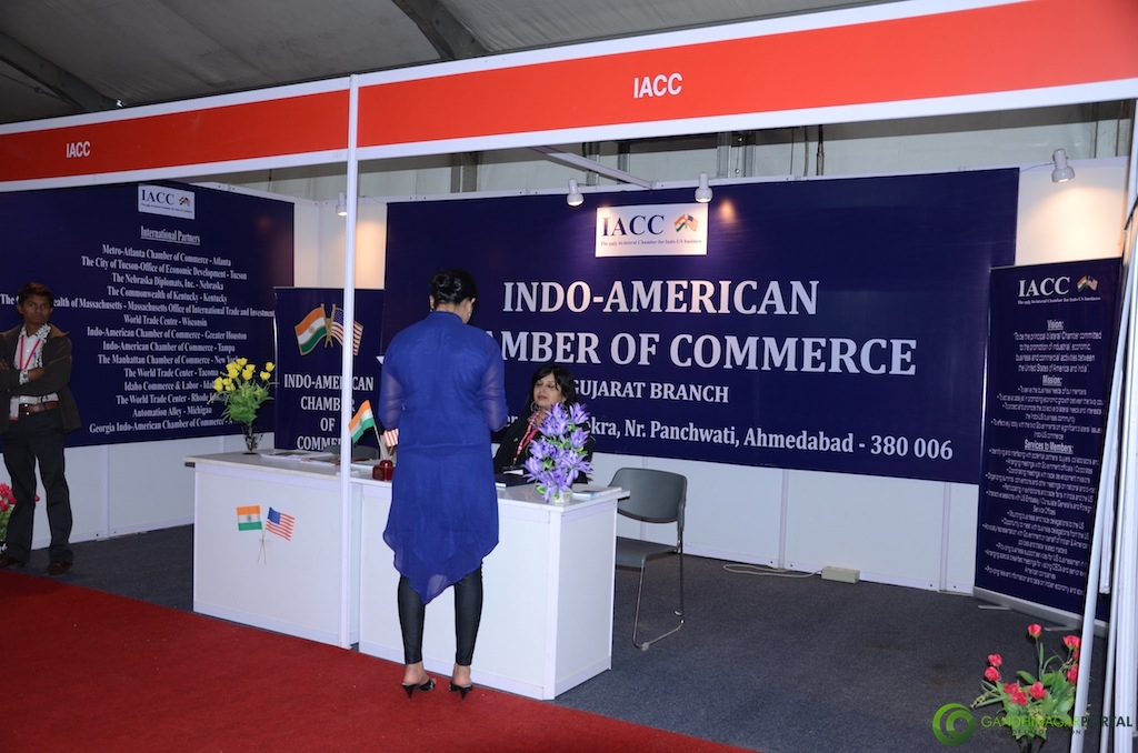 Indo-American Chamber of Commerce @ Vibrant Gujarat Global Trade Show Gandhinagar 2013, 8th January 2013@ Exhibition Ground Gandhinagar Gandhinagar, Gujarat, India.