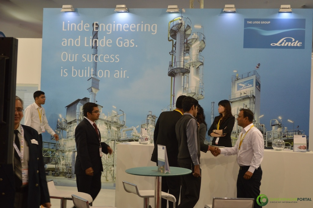 LINDE Group @ Vibrant Gujarat Global Trade Show Gandhinagar 2013, 8th January 2013@ Exhibition Ground Gandhinagar Gandhinagar, Gujarat, India.