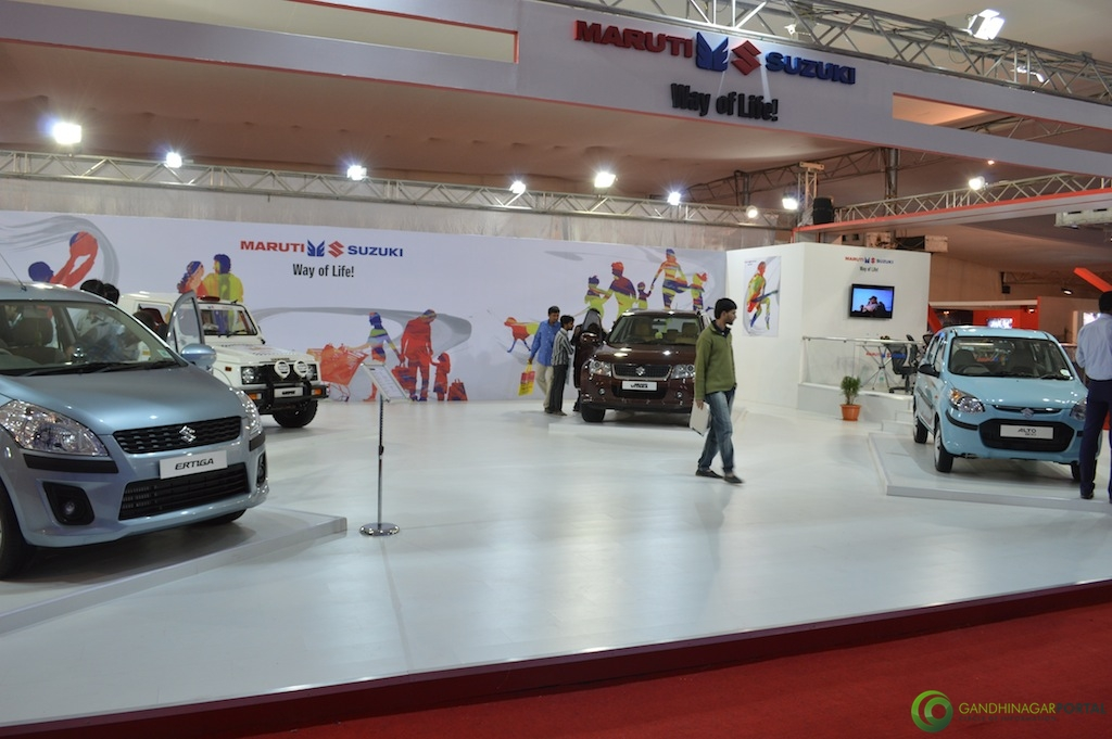 Maruti Suzuki @ Vibrant Gujarat Global Trade Show Gandhinagar 2013, 8th January 2013@ Exhibition Ground Gandhinagar