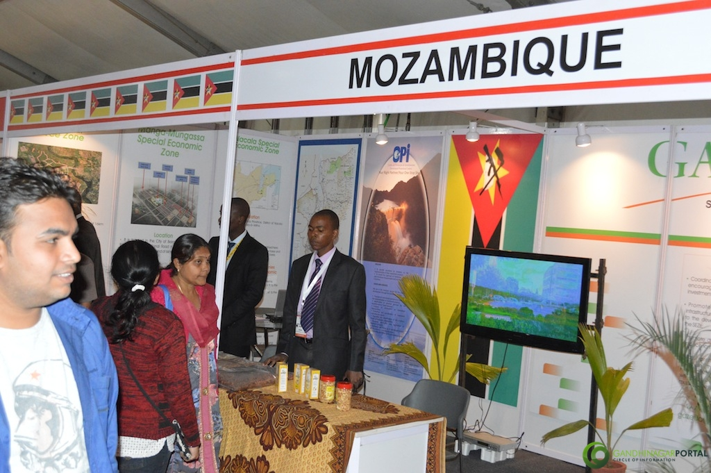mozambique @ Vibrant Gujarat Global Trade Show Gandhinagar 2013, 8th January 2013@ Exhibition Ground Gandhinagar Gandhinagar, Gujarat, India.