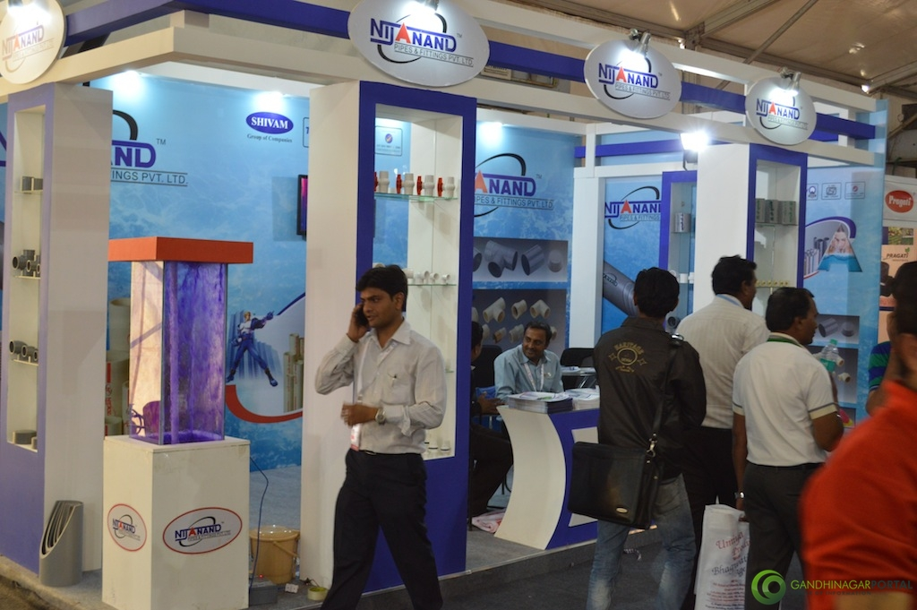 NIJANAND @ Vibrant Gujarat Global Trade Show Gandhinagar 2013, 8th January 2013@ Exhibition Ground Gandhinagar Gandhinagar, Gujarat, India.