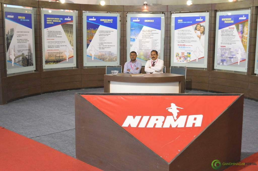 NIRMA @ Vibrant Gujarat Global Trade Show Gandhinagar 2013, 8th January 2013@ Exhibition Ground Gandhinagar Gandhinagar, Gujarat, India.