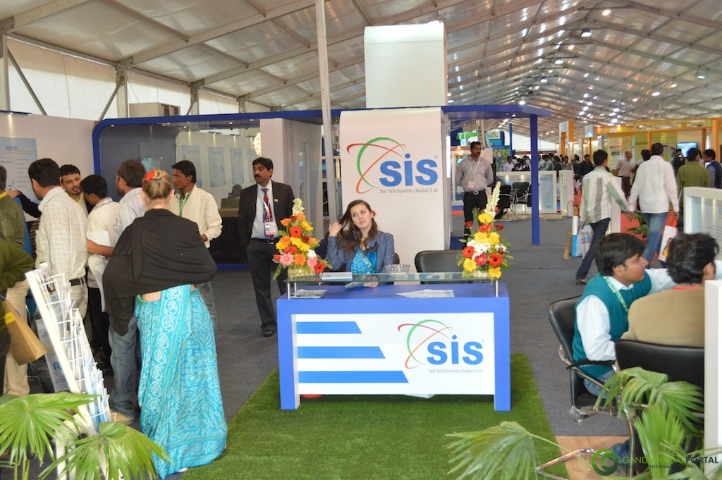 SAI InfoSystems (India) Ltd. @ Vibrant Gujarat Global Trade Show Gandhinagar 2013, 8th January 2013@ Exhibition Ground Gandhinagar