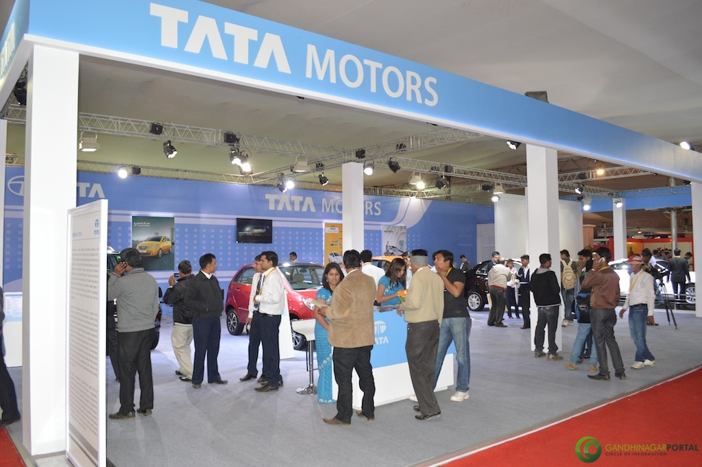 TATA Motors @ Vibrant Gujarat Global Trade Show Gandhinagar 2013, 8th January 2013@ Exhibition Ground Gandhinagar Gandhinagar, Gujarat, India.