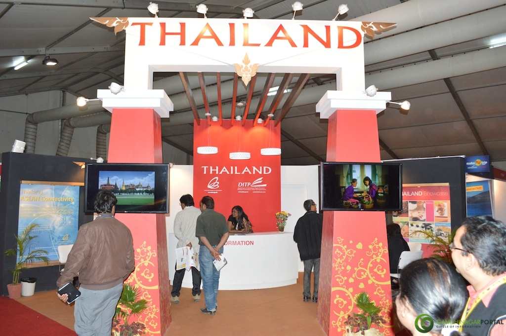 Thailand @ Vibrant Gujarat Global Trade Show Gandhinagar 2013, 8th January 2013@ Exhibition Ground Gandhinagar Gandhinagar, Gujarat, India.