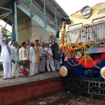 memo_train_green_signal_by_mayor_shri_mahendrasinh_rana5 Gandhinagar, Gujarat, India.