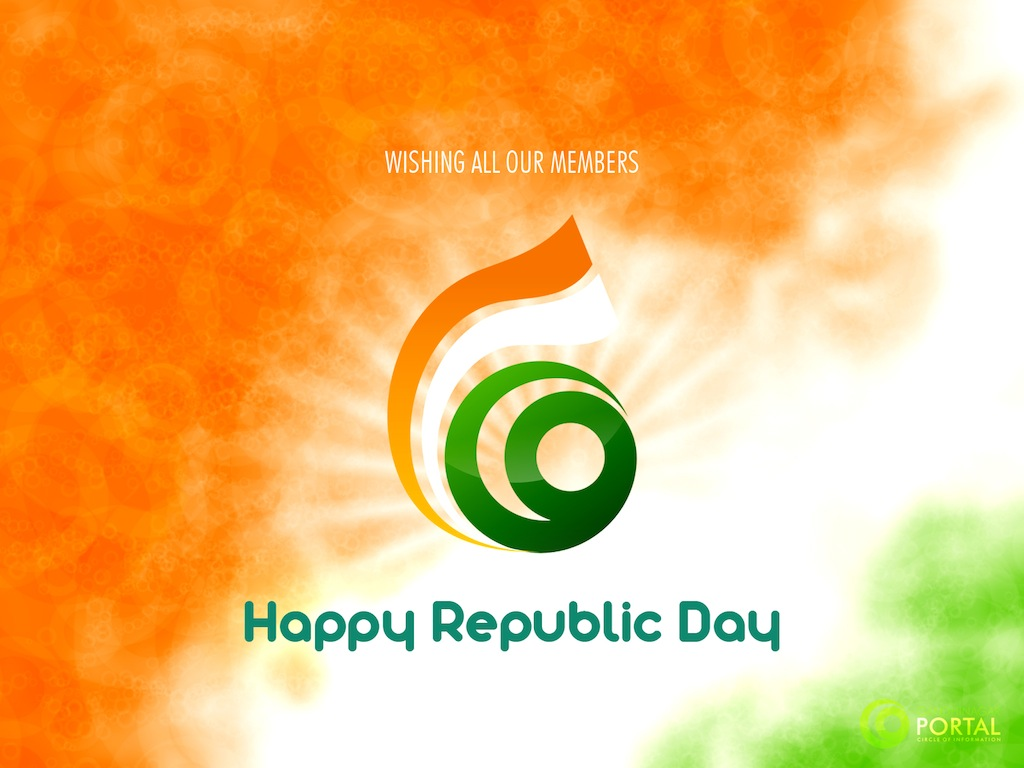 Happy Repbulic Day Gandhinagar, Gujarat, India.