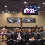 Invited Delegates from All Over the World at 6th Vibrant Gujarat Global Summit 2013- Mahatma Mandir, Gandhinagar Gandhinagar, Gujarat, India.