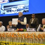 Book on Vibrant Gujarat Released by Shri Narendra Modi at 6th Vibrant Gujarat Global Summit 2013- Mahatma Mandir, Gandhinagar Gandhinagar, Gujarat, India.