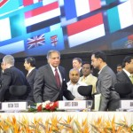 Sir Ratan Tata at 6th Vibrant Gujarat Global Summit 2013- Mahatma Mandir, Gandhinagar Gandhinagar, Gujarat, India.
