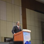 Anand Mahindra- Mahindra & Mahindra Group at 6th Vibrant Gujarat Global Summit 2013- Mahatma Mandir, Gandhinagar Gandhinagar, Gujarat, India.