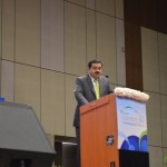 Gautam Adani- ADANI GROUP speaks at 6th Vibrant Gujarat Global Summit 2013- Mahatma Mandir, Gandhinagar Gandhinagar, Gujarat, India.