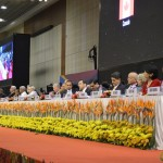 Industrialists and Partner Countries Delegates at Vibrant Gujarat Global Summit 2013- Mahatma Mandir, Gandhinagar Gandhinagar, Gujarat, India.