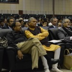 Shri Jaynarayn Vyas and Shri Fakirbhai Vaghela attends 6th Vibrant Gujarat Global Summit 2013- Mahatma Mandir, Gandhinagar Gandhinagar, Gujarat, India.
