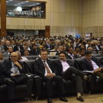 Invited Delegates from All Over the World at Vibrant Gujarat Global Summit 2013- Mahatma Mandir, Gandhinagar Gandhinagar, Gujarat, India.