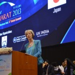 Patricia Hewitt at Vibrant Gujarat Global Summit Inauguration 2013- Mahatma Mandir, Gandhinagar Gandhinagar, Gujarat, India.