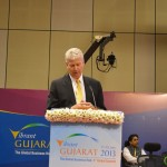 Stewart Beck at Vibrant Gujarat Global Summit Inauguration 2013- Mahatma Mandir, Gandhinagar Gandhinagar, Gujarat, India.