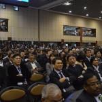 invited Delegates from All Over the World at Vibrant Gujarat Global Summit 2013- Mahatma Mandir, Gandhinagar Gandhinagar, Gujarat, India.