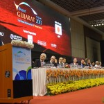 Industrialists and Partner Countries Delegates at 6th Vibrant Gujarat Global Summit 2013- Mahatma Mandir, Gandhinagar Gandhinagar, Gujarat, India.