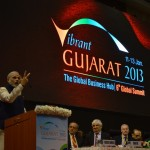 Shri Narendra Modi's Speech during Inaugural Function @ Vibrant Gujarat Global Summit 2013- Mahatma Mandir, Gandhinagar Gandhinagar, Gujarat, India.