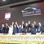 Images of Inaugural Function of Vibrant Gujarat Global Summit 2013- Mahatma Mandir, Gandhinagar Gandhinagar, Gujarat, India.