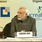 Shri Narendra Modi at Innovative Symposium, Ahmedabad Management Association, Gandhinagar, Gujarat, India.