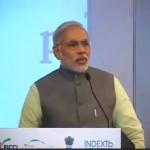 Shree Narendra Modi @ Vibrant GUjarat Summit 2013- Mahatma Mandir, Gandhinagar Gandhinagar, Gujarat, India.