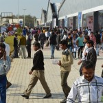Exhibition Ground at Vibrant Gujarat Global Summit 2013 Gandhinagar