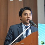 Youngest CEO Suhas Gopinath at Convention by Vivekananda Yuva Parishad- Vibrant Gujarat Summit 2013-Gandhinagar Gandhinagar, Gujarat, India.