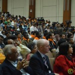 Delegates at Convention by Vivekananda Yuva Parishad- Vibrant Gujarat Summit 2013-Gandhinagar Gandhinagar, Gujarat, India.
