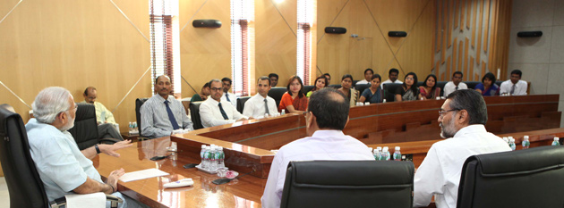 CM meets Officers of Indian Forest Service in Gandhinagar Gandhinagar, Gujarat, India.