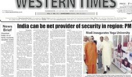 24 May 2013- Western Times English : Daily English News Paper from Gujarat on Gandhinagar Portal