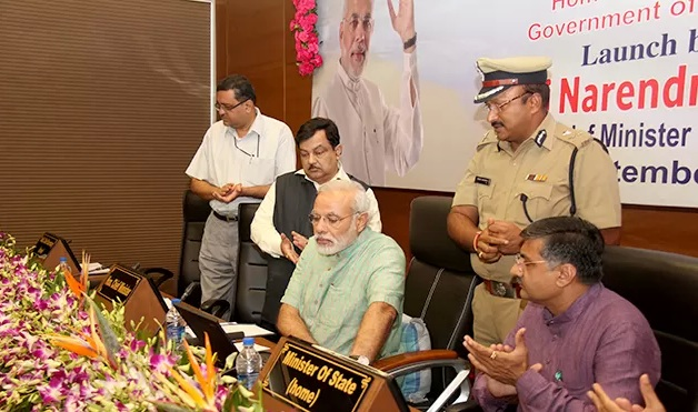 eGujCop project launched by Narendra Modi in Gandhinagar