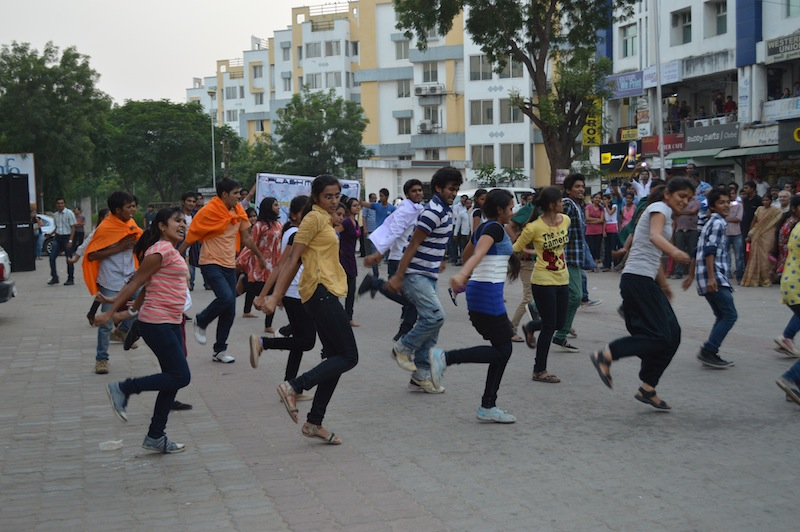 Flash Mob Gandhinagar