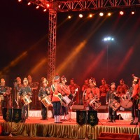 ARMY BAND at Vibrant Gujarat 2015, Gandhinagar