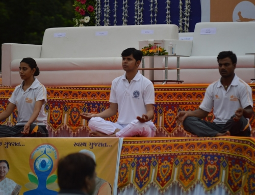 International Yoga Day 2015 -Gandhinagar