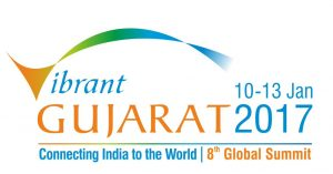 Vibrant Gujarat Global Summit 2017 Gandhinagar, Gujarat, India.